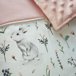 Couverture – Lapin rose
